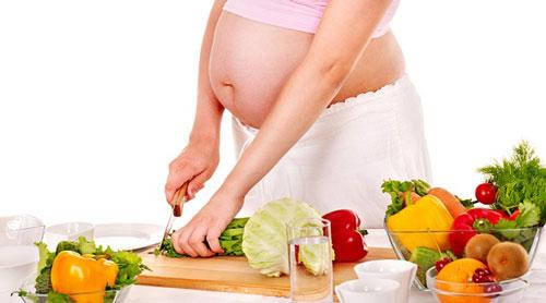 Grossesse : surveillez votre alimentation
